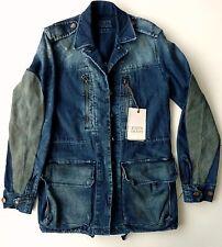 Zara Zip Hip Length Cotton Blend Coats & Jackets for Women