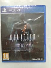 MURDERED SOULS SUSPECT SQUARE ENIX   PS4  NEUF SOUS BLISTER