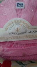 REBAJAS albornoz niñ@ talla 6 rosa con capucha.