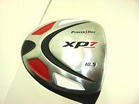 Powerbilt Golf Club XP7 10.5 Black Driver with Cover