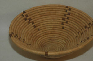 Large Southwest Yucca and Devils Claw Coil Basket