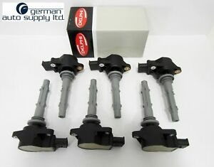 Mercedes-Benz 6 Piece Ignition Coil Set  - DELPHI - GN10235 - MB OEM Coils