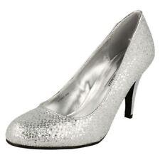 Scarpe da donna spilliamo argento , Numero 39