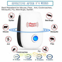 Pro Ultrasonic Pest Repeller Control Electronic Repellent Mice Rat Reject US