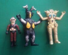 LOTTO 3 PERSONAGGI ULTRAMAN Vintage Action Figures Bandai
