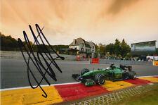 ANDRE LOTTERER CATERHAM F1 HAND SIGNED 6X4 PHOTO 19.