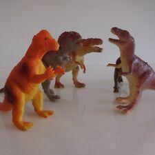 5 statuettes figurines dinosaures