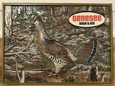 Rare Genesee Beer & Ale Lighted Sign Insert - Ruffed Grouse
