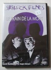 DVD SHERLOCK HOLMES : LE TRAIN DE LA MORT - Basil RATHBONE / Nigel BRUCE - NEUF