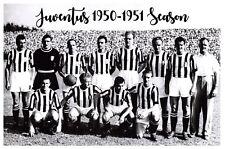 Football Soccer Italian Italy Postcard, Juventus Team Photo 1950-1951Season 21F