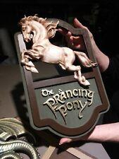 Inn of the Prancing Pony LOTR, Prancing Pony sign