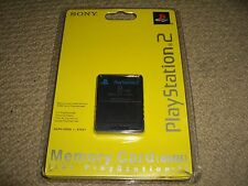 PLAYSTATION 2 PS2 MEMORY CARD 8MB 8 MB in Black - BRAND NEW & SEALED!