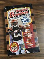 2000 Bowman Football Hobby Box, sealed (possible Brady RC?)