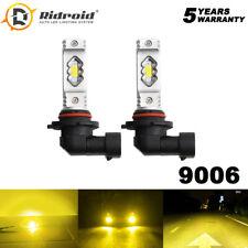 9006 HB4 LED Fog Light Headlights Bulb Low Beam Conversion Bulb Kit 3000K Yellow