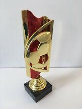 Red & Gold Football Award - 280mm. Free Engraving