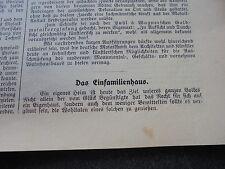 1913 Baugewerkszeitung 15 / Einfamilienhäuser von Gebhardt + Eberhardt Stuttgart