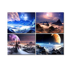 Picture Painting Canvas Print Wall Art Home Decor Photo Space Universe Framed