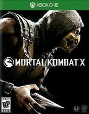 Xbox One 1 Mortal Kombat X Brutal Who's next? NEW Sealed Region Free USA game