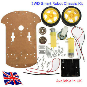 2WD Smart Robot Chassis Kit - suit Arduino,Raspberry Pi and other projects in UK