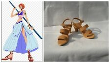 One Piece Nami Cosplay Costume Boots Boot Shoes Shoe