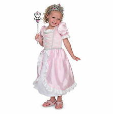 Girls Princess Fancy Dress Complete Outfit Wand Melissa & Doug - Age 3-6 - New