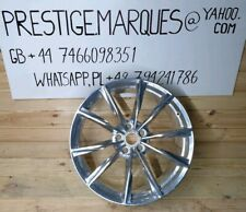 "20"" GENUINE Aston Martin DB9 GT CHROME FORGED front alloy wheel."