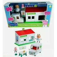 Peppa Pig Medical Centre Playset Toy Hospital Ambulance Figures **FREE DELIVERY*