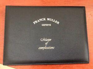 Certificat garantie Franck Muller🇨🇭