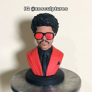The Weeknd Custom 3D Printed Chapter 6 Bust Statue After hours Kissland Starboy