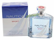 Nautica  Voyage Sport  For Men Eau de Toilette Spray 3.4/3.3 oz NEW IN BOX
