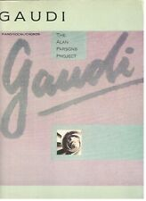 THE ALAN PARSONS PROJECT GAUDI MUSIC BOOK EXTREMELY RARE SONGBOOK NEW ON SALE!!
