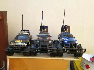 3X RC MONSTER TRUCK / FORD / DODGE / 4X4