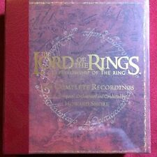 The Lord of the Rings: The Fellowship of the Ring The Complete Recordings - NEW