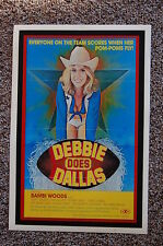 DEBBIE DOES DALLAS Lobby Card Movie Poster BAMBI WOODS