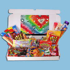 WITH LOVE RETRO SWEETS GIFT BOX- VALENTINES, MOTHERS DAY, BIRTHDAY GIFT