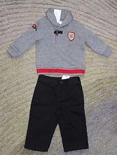 Ralph Lauren Baby Boys 2 Piece Outfit (Shirt & Pants) - Size 9 Months - NWT