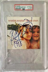 Smashing Pumpkins signed Siamese Dream CD album cover Billy Corgan +2 PSA/DNA