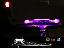 Holden Rodeo L.e.d Numberplate bulbs- PINK  by FL Designed