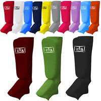 Shin Instep Pads Padded Boxing Foot Guard Protector Martial Art  Mens & Ladies