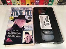 * Stone Fox Rare 80's TV Movie Family Western VHS 1987 Buddy Ebsen Joey Cramer