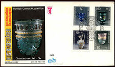Berlin 1986 Glassware FDC First Day Cover #C35496