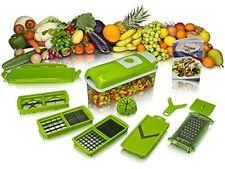 Novel Vegetable & Fruit Chipser With 11 Blades + 1 Free peeler inside