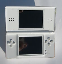 Nintendo DS Lite white used boxed with scratch-free LCDs
