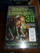 NIGHT OF THE LIVING DEAD 3D DVD   NEW AND SEALED!!