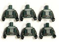 Lego 6  Body Torso For  Minifigure Figure Knight Soldier Army Castle