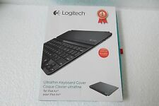 Logitech Ultra-Thin Bluetooth Keyboard Cover i5/Case for iPad Air 920-005510 NEW