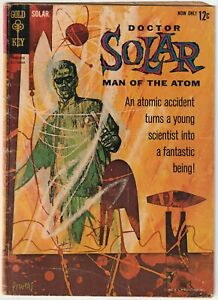 Doctor Solar Man of The Atom #1 Gold Key Comics 1/1962 1st Appearance BIG SCANS