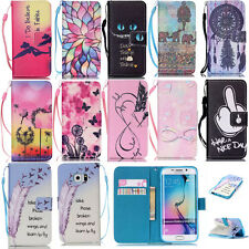New Fashion Flip Leather Wallet Case Cover w/ Card Holder Stand for Phone CASE