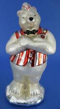 Coca Cola Polar Bear Soda Jerk Mercury Glass Table Top Figurine