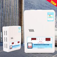 Automatic 15Kw Voltage Stabilizer Ac Regulator Power Supply 130v-270v to 220V